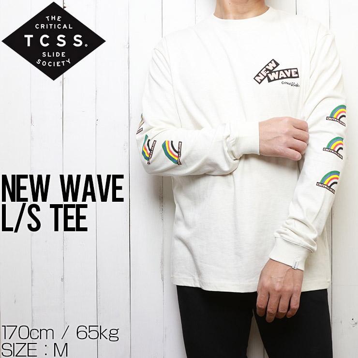[クリックポスト対応] TCSS ティーシーエスエス NEW WAVE L/S TEE ロングスリーブTEE TE2024