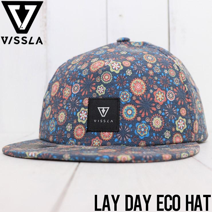 【送料無料】 VISSLA ヴィスラ LAY DAY ECO HAT ストラップキャップ フレックスバイザー MAHTQLAY [FB]