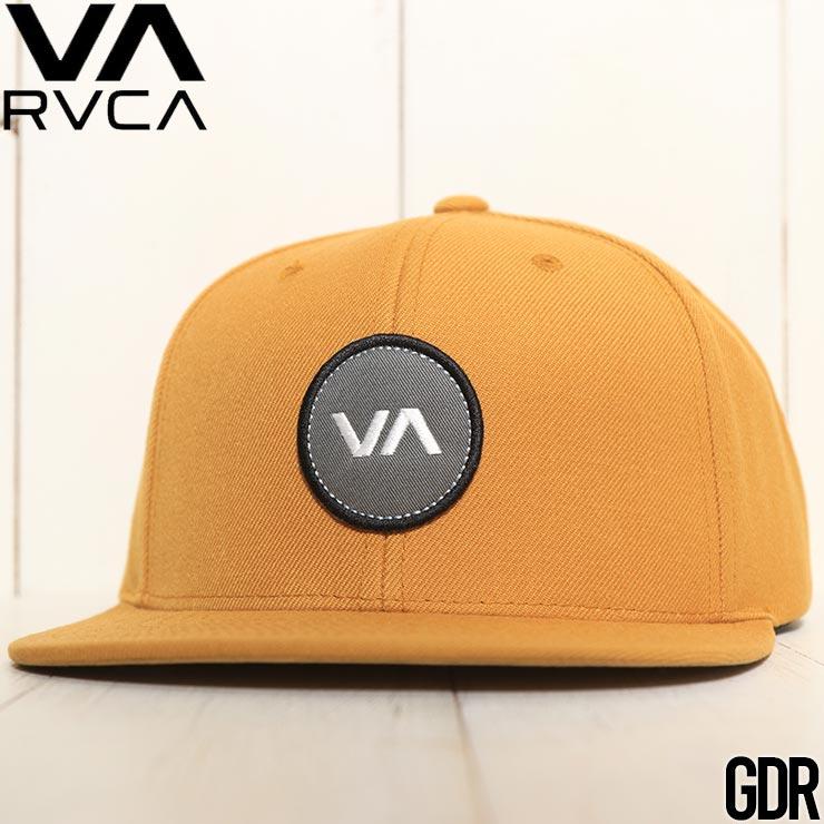 【送料無料】 RVCA ルーカ VA PATCH SNAPBACK HAT スナップバックキャップ 帽子 MAHWVRVP