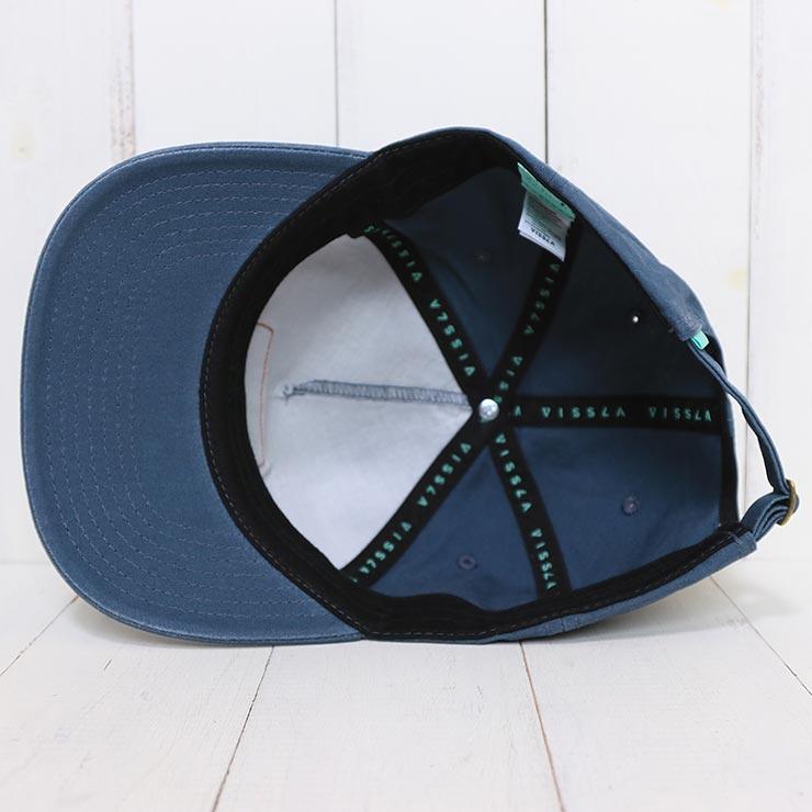 【送料無料】 VISSLA ヴィスラ SEAL OF STOKE HAT ストラップキャップ MAHTQSEA [FB]