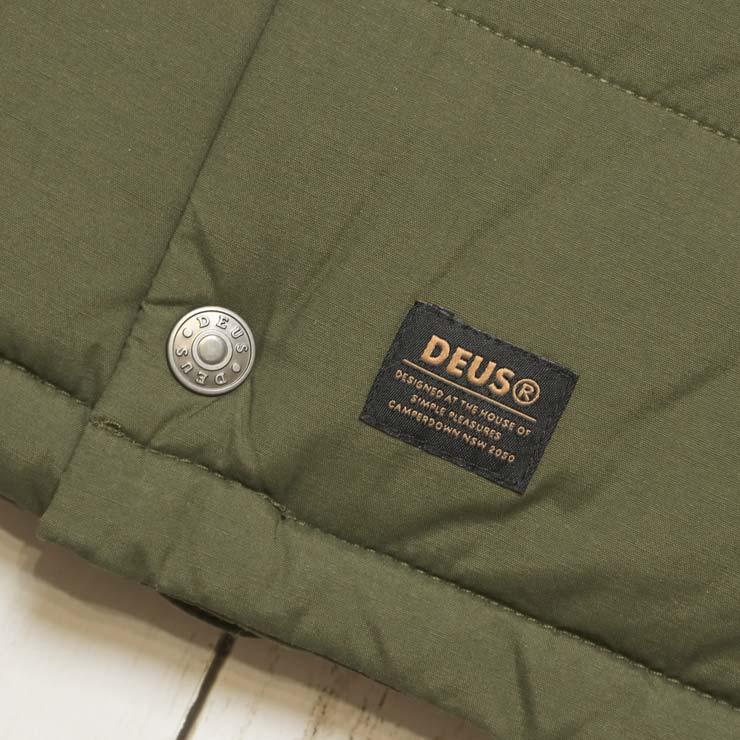Deus Ex Machina デウスエクスマキナ CARSON VEST JACKET ダウンベスト DMF76731