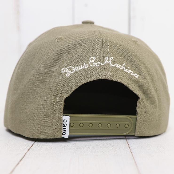 【送料無料】 Deus Ex Machina デウスエクスマキナ HEMP BASEBALL CAP スナップバックキャップ DMS97340