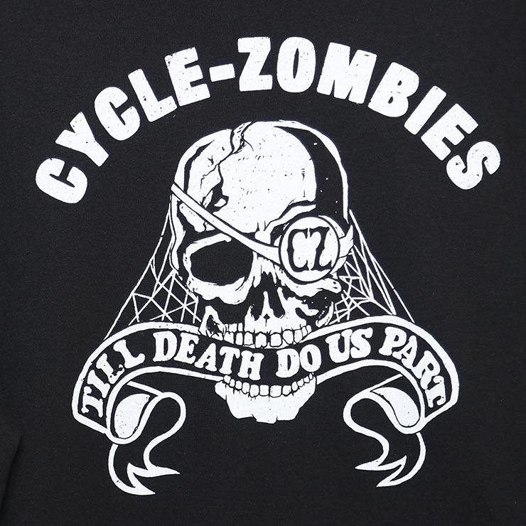 [クリックポスト対応] Cycle Zombies サイクルゾンビーズ BITE IT L/S TEE ロンT ロングスリーブTシャツ CZ-MSLST-021