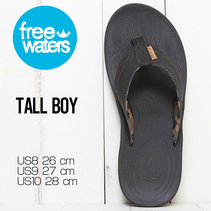 【送料無料】 freewaters フリーウォータース TALL BOY (MEN'S) サンダル アウトドアサンダル ビーチサンダル FW21SM017