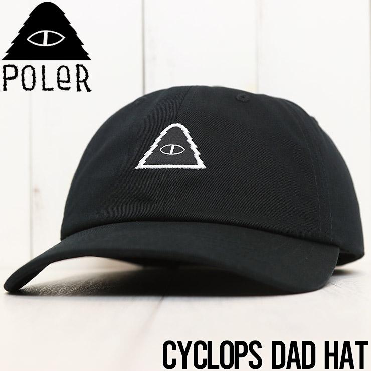 【送料無料】 POLeR ポーラー CYCLOPS DAD HAT スナップバックキャップ 211ACM7803 [FB]
