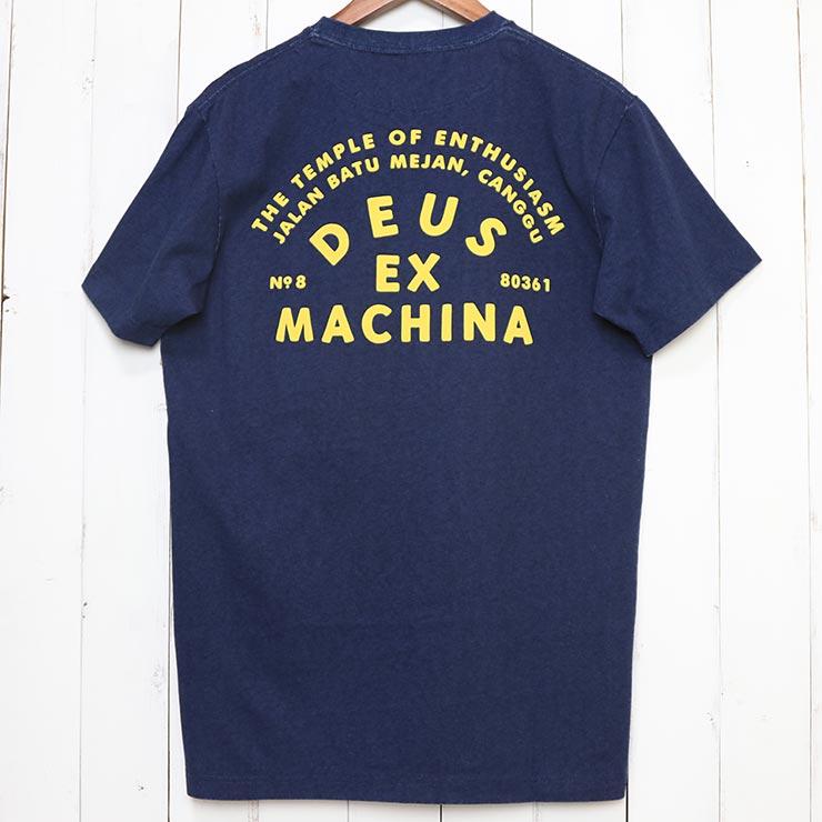 [クリックポスト対応] Deus Ex Machina デウス エクス マキナ ROLLER CANGGU ADDRESS S/S TEE ポケット付き半袖Tシャツ DMS91311D