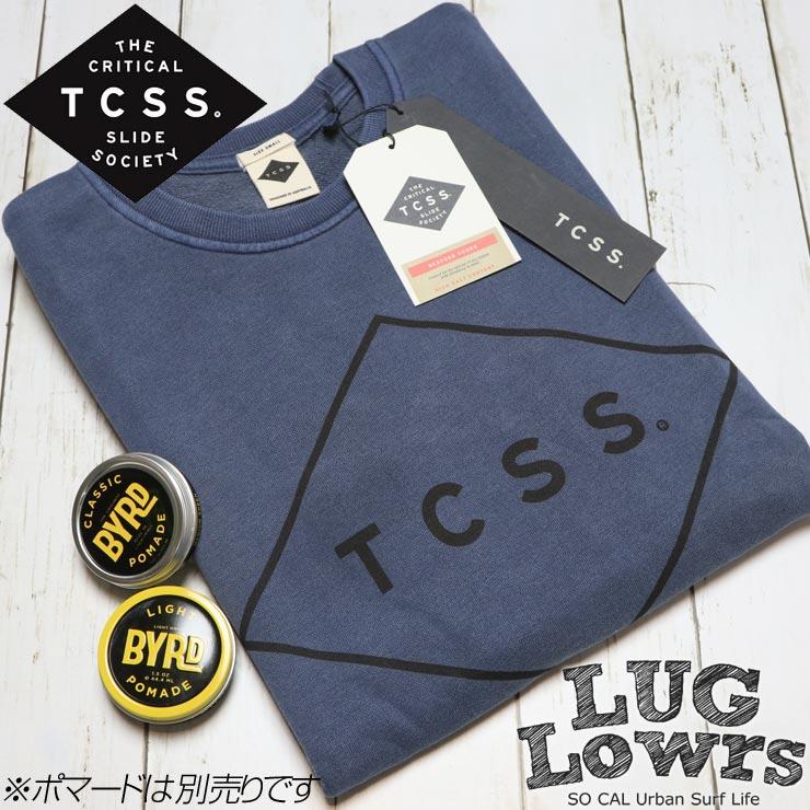 TCSS ティーシーエスエス STANDARD CREW スウェットトレーナー FC1805