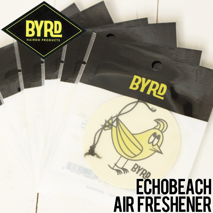 [クリックポスト対応] BYRD バード AIR FRESHENERS エアフレッシュナー ECHOBEACH