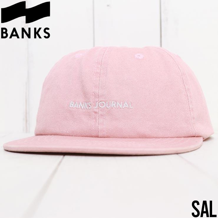【送料無料】 BANKS バンクス LABEL HAT スナップバックキャップ HA0130 [FB]