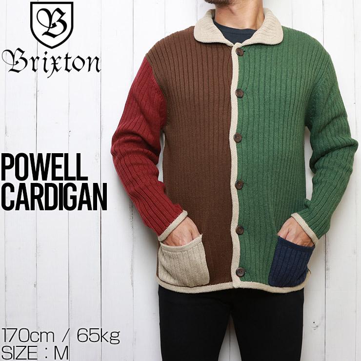 BRIXTON ブリクストン POWELL CARDIGAN ニットカーディガン 02941