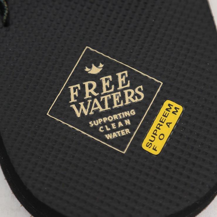【送料無料】 freewaters フリーウォータース SUPREEM (MEN'S) サンダル アウトドアサンダル ビーチサンダル FW21SM045