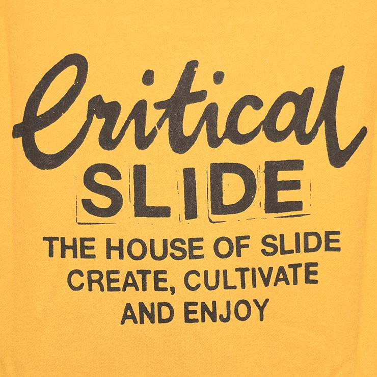 Critical Slide クリティカルスライド TCSS ティーシーエスエス CREATOR CREW スウェットトレーナー FC2102