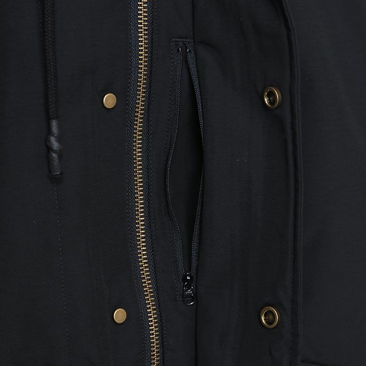 【送料無料】 BRIXTON ブリクストン SPOKANE JACKET フードジャケット 03179 BLACK