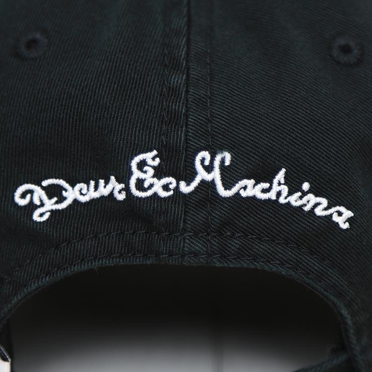【送料無料】 Deus Ex Machina デウスエクスマキナ CLASSIC DAD PORTAL CAP ストラップバックキャップ ローキャップ DMF87549B [FB]