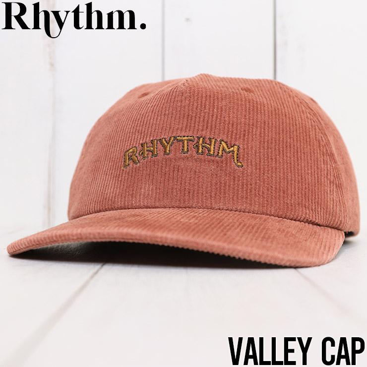 【送料無料】 Rhythm リズム VALLEY CAP ストラップバックキャップ JUL20M-CP01