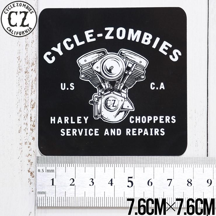 【送料無料】 Cycle Zombies サイクルゾンビーズ CZ STICKER ステッカー CZ-STK-001 #17