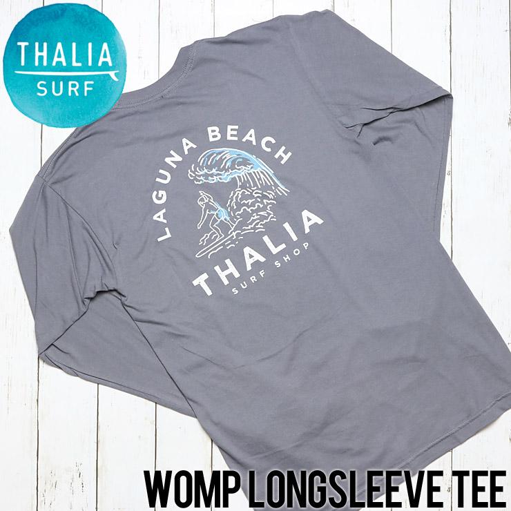 [クリックポスト対応] THALIA SURF タリアサーフ  WOMP L/S TEE ロングスリーブTシャツ P-1840