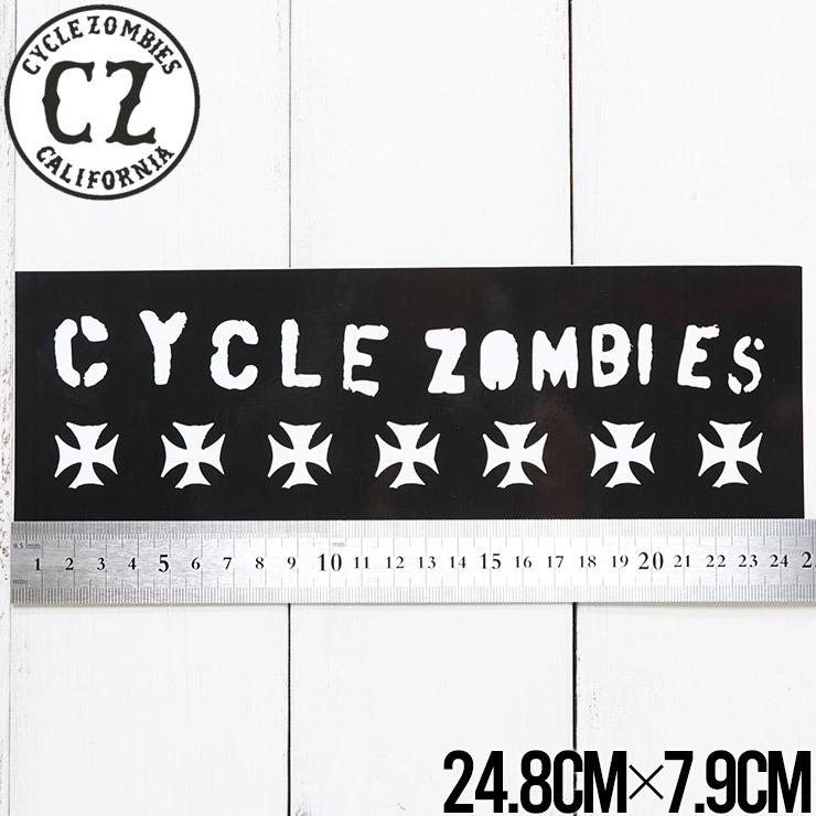 【送料無料】 Cycle Zombies サイクルゾンビーズ CZ STICKER ステッカー CZ-STK-001 #18