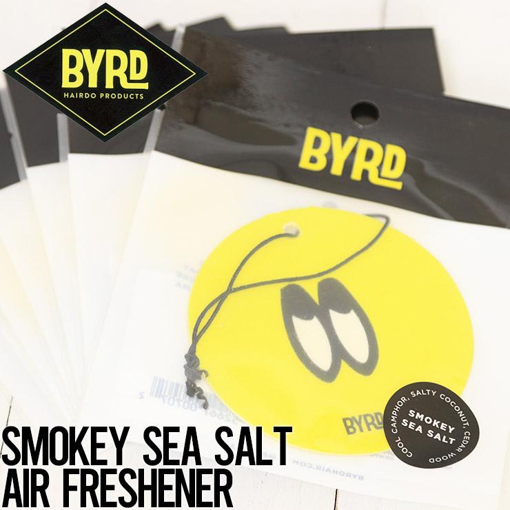 [クリックポスト対応] BYRD バード AIR FRESHENERS エアフレッシュナー SMOKEY SEA SALT AIR FRESHENER