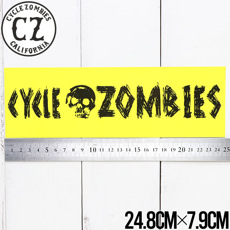 【送料無料】 Cycle Zombies サイクルゾンビーズ CZ STICKER ステッカー CZ-STK-001 #19