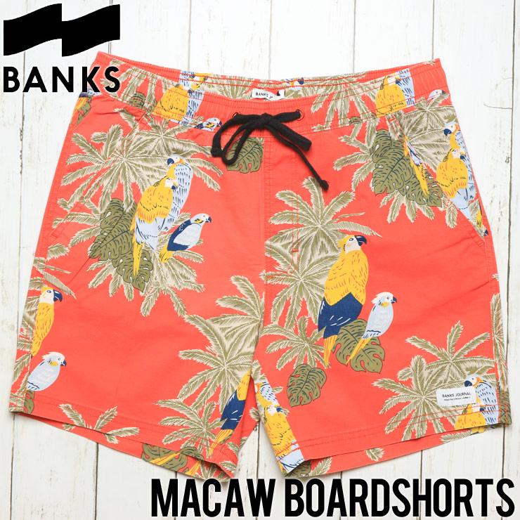 [クリックポスト対応] BANKS バンクス MACAW BOARDSHORTS ボードショーツ BS0121