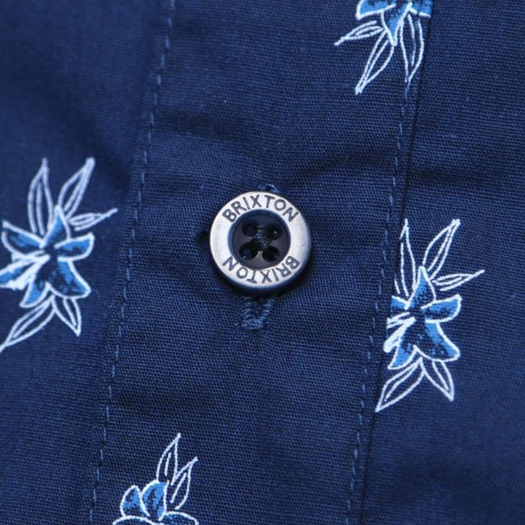 [クリックポスト対応] BRIXTON ブリクストン CHARTER PRINT S/S WOVEN SHIRTS 半袖シャツ 01134 WANAQ