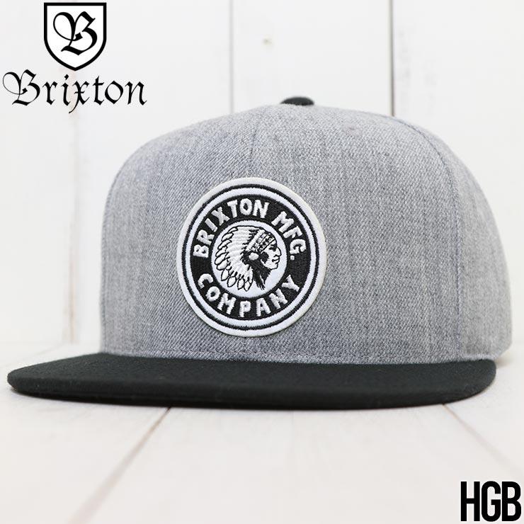 【送料無料】 BRIXTON ブリクストン RIVAL SNAPBACK CAP スナップバックキャップ 10856