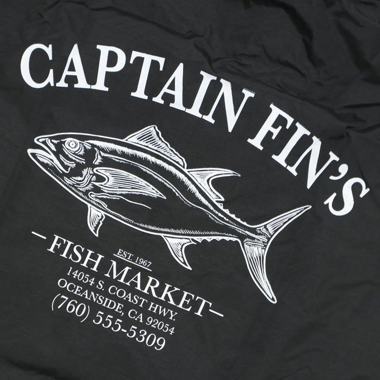 [クリックポスト対応] CAPTAIN FIN キャプテンフィン FISHMARKET JACKET フード付きナイロンコーチジャケット CJ174329