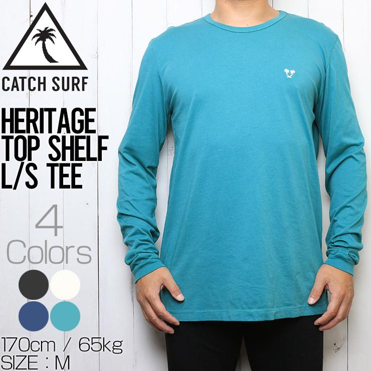 [クリックポスト対応] CATCH SURF キャッチサーフ HERITAGE TOP SHELF L/S TEE ロンT ロングスリーブTEE A9TEE014
