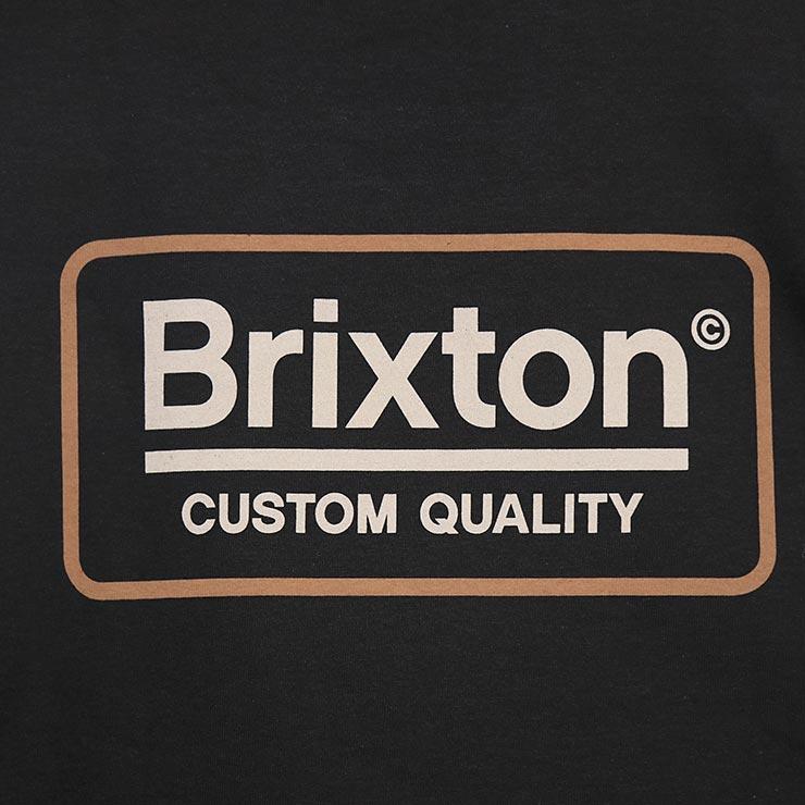 [クリックポスト対応] BRIXTON ブリクストン PALMER II L/S TEE ロングスリーブTEE 16078 BKVAN