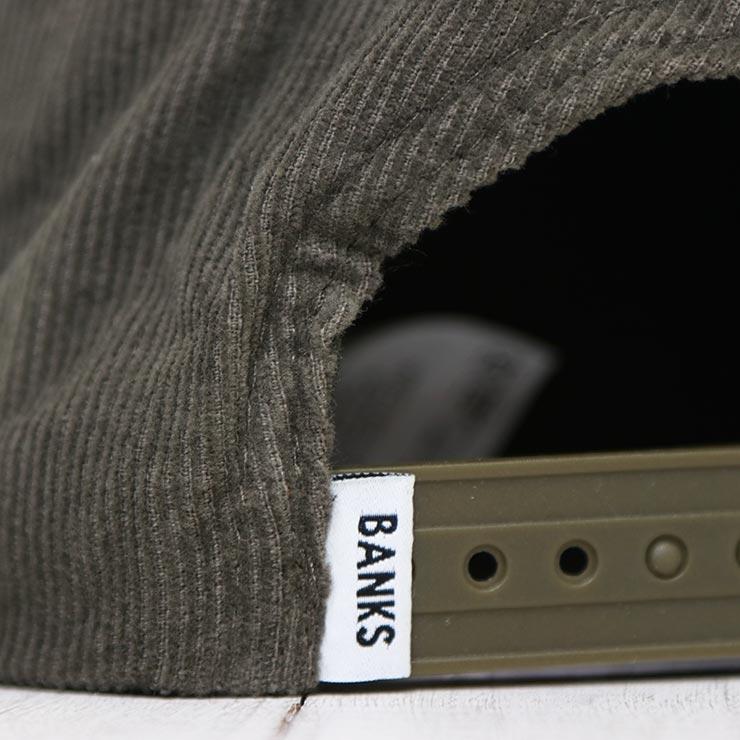 【送料無料】 BANKS バンクス BAJA HAT コーデュロイスナップバックキャップ HA0131