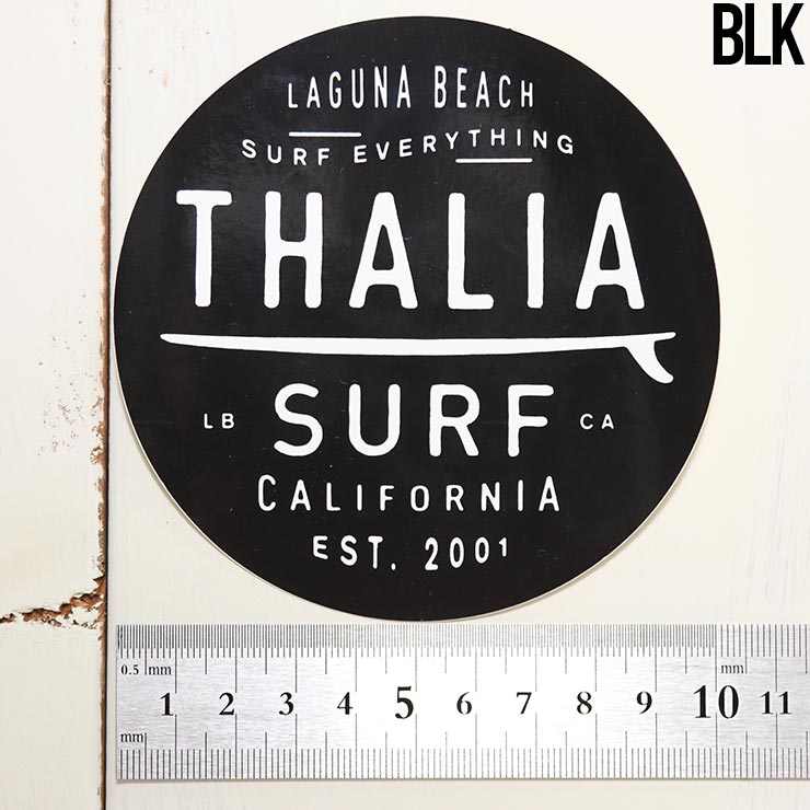 """【送料無料】 THALIA SURF タリアサーフ DOT BIG 4"""" STICKER ステッカー シール"""