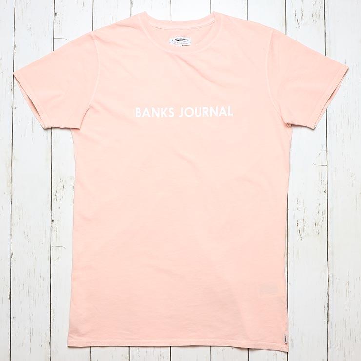 [クリックポスト対応] BANKS バンクス LABEL S/S TEE 半袖Tシャツ WTS0307