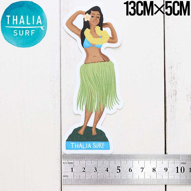 【送料無料】 THALIA SURF タリアサーフ HULA GIRL STICKER ステッカー