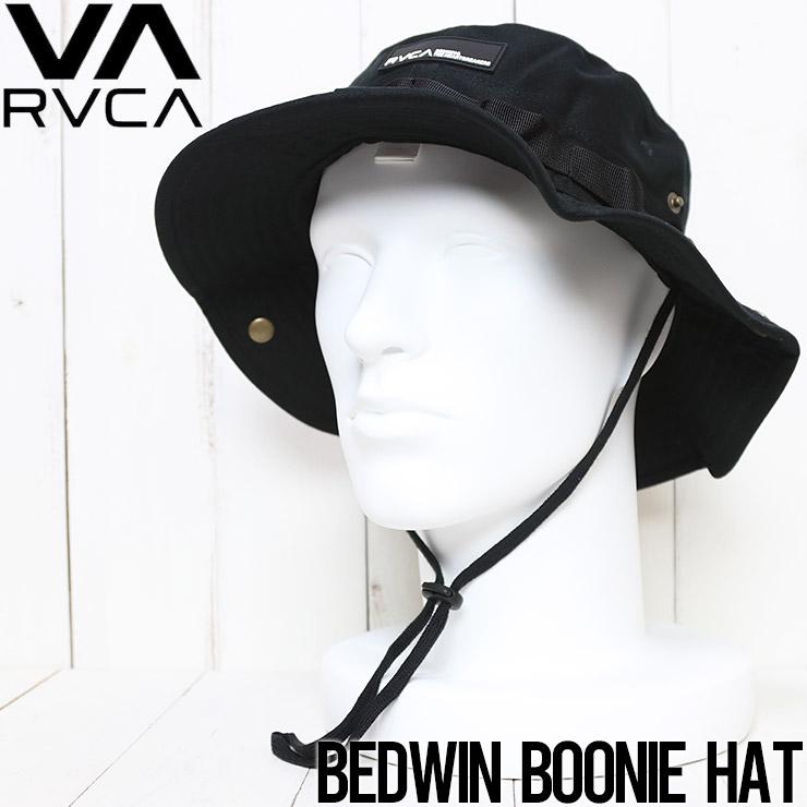 [クリックポスト対応]  RVCA ルーカ BEDWIN BOONIE HAT ハット ミリタリーハット VAHW3RBH