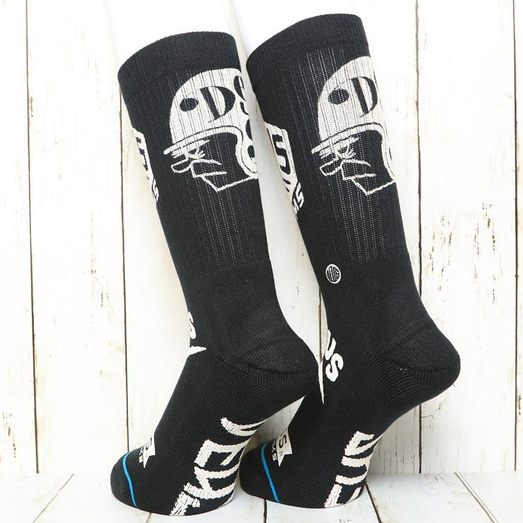 [クリックポスト対応] STANCE スタンス BLACKWATER SOCKS DEUS×STANCE ソックス 靴下 M556D17BWA