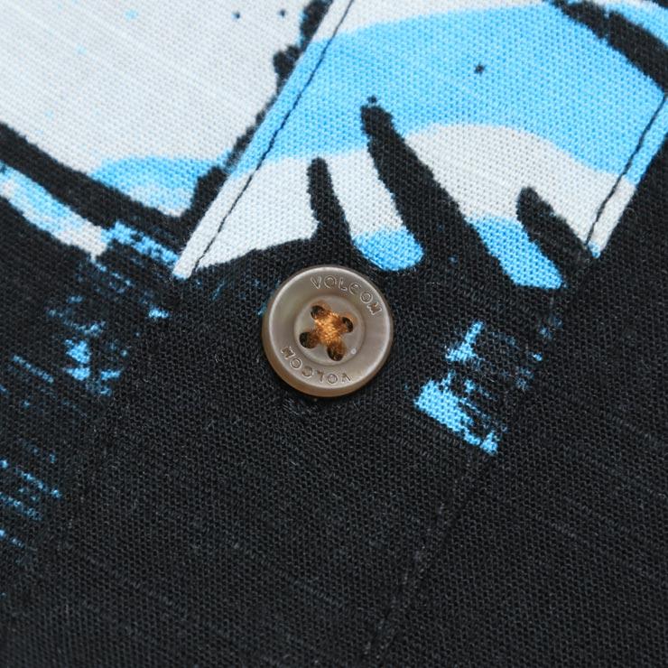 [クリックポスト対応] VOLCOM ボルコム RESIN LEAF S/S SHIRT 半袖シャツ A04118C3