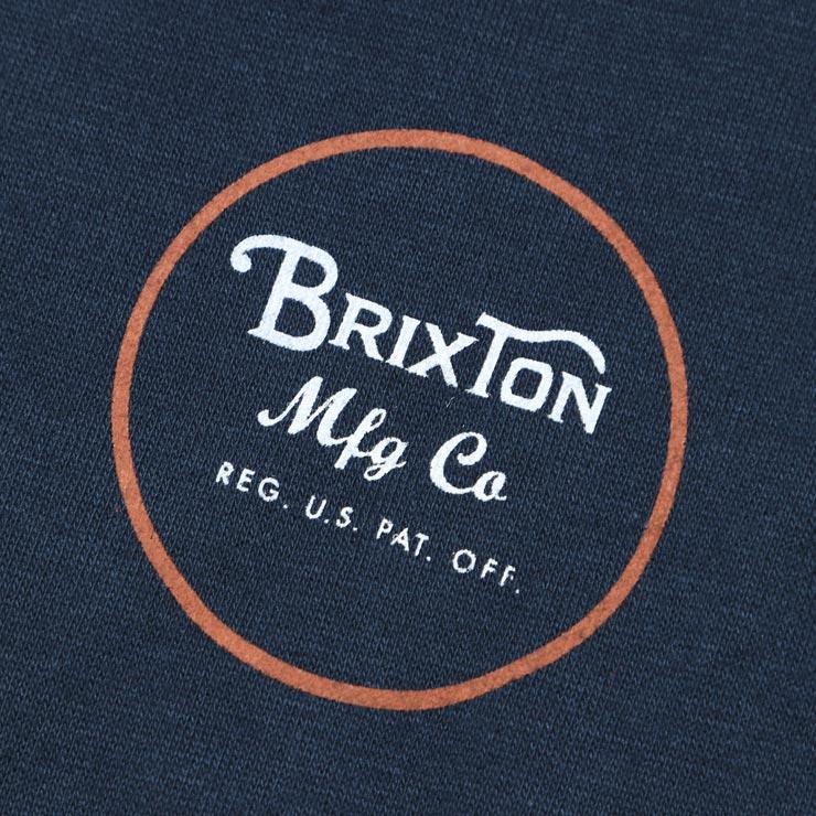 BRIXTON ブリクストン WHEELER CREW スウェットトレーナー 02146 NVORG