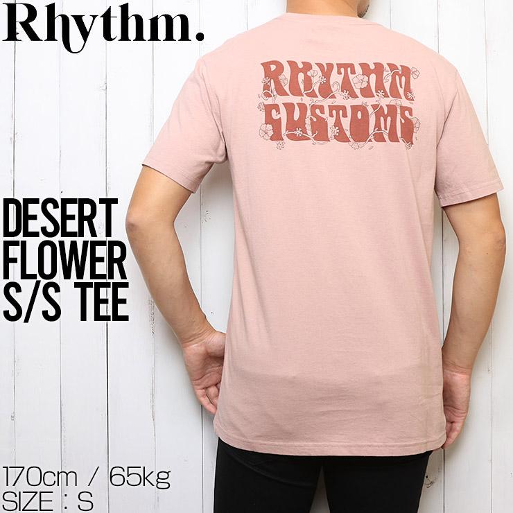 [クリックポスト対応] Rhythm リズム DESERT FLOWER S/S TEE 半袖Tシャツ APR20M-PT04