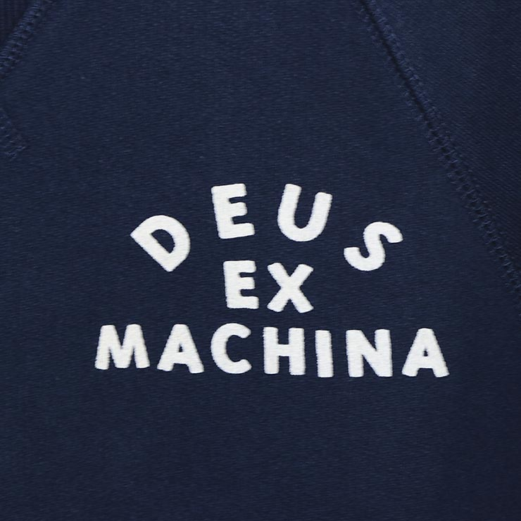 Deus Ex Machina デウスエクスマキナ VENICE ADDRESS CREW スウェットトレーナー DMW98028A