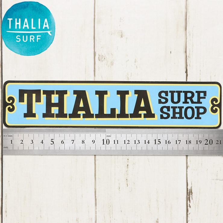 """【送料無料】 THALIA SURF タリアサーフ THALIA SIGN LOGO 8 1/2"""" STICKER ステッカー シール"""