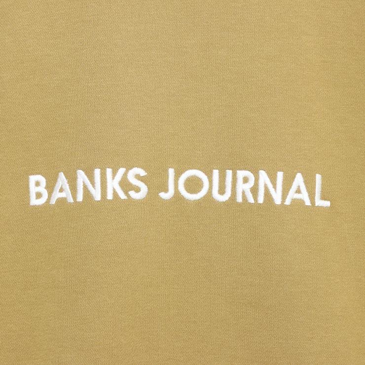 BANKS バンクス LABEL CREW GRAPHIC FLEECE スウェットトレーナー WFL0282