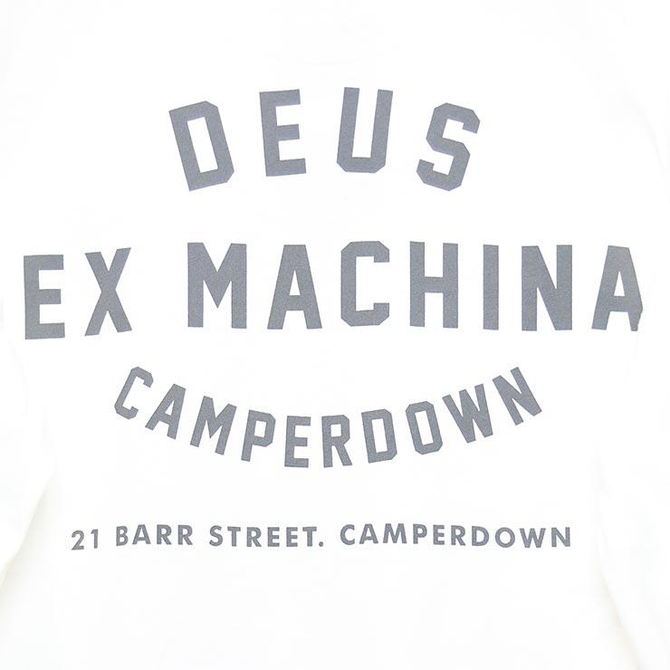 [クリックポスト対応] Deus Ex Machina デウスエクスマキナ CAMPERDOWN L/S TEE ロンT ロングスリーブTEE T-DMA61831A