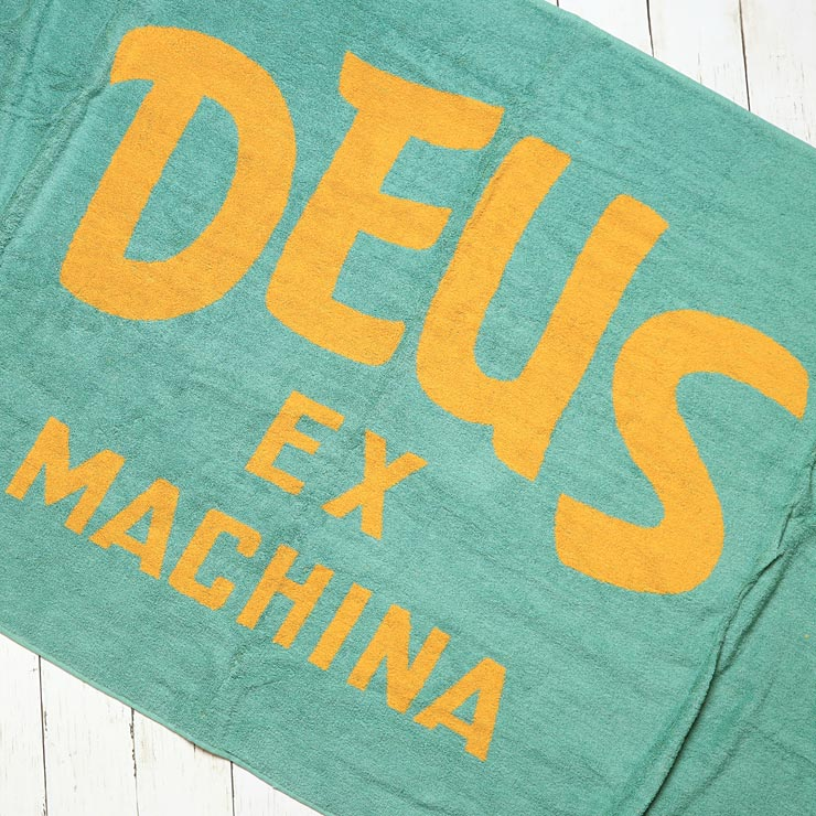 Deus Ex Machina デウスエクスマキナ CURVY TOWEL ビーチタオル DMP77144