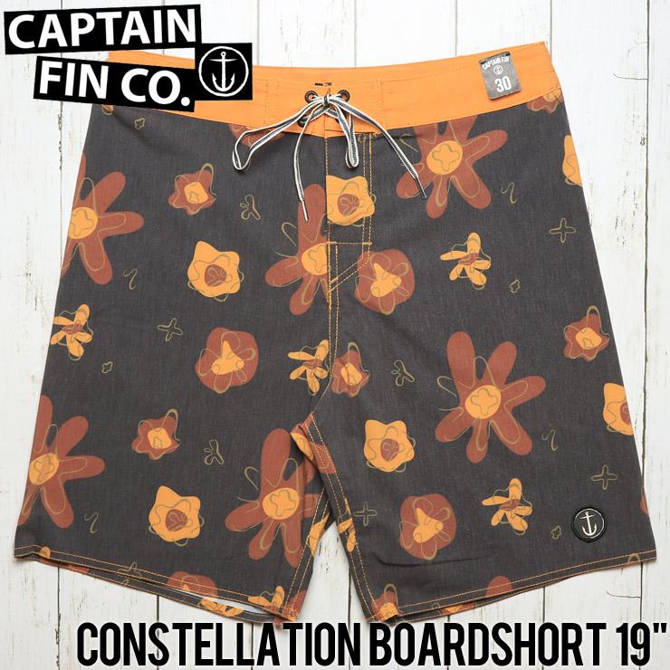 """[クリックポスト対応] CAPTAIN FIN キャプテンフィン CONSTELLATION BOARDSHORT 19"""" ボードショーツ サーフパンツ CR182006"""