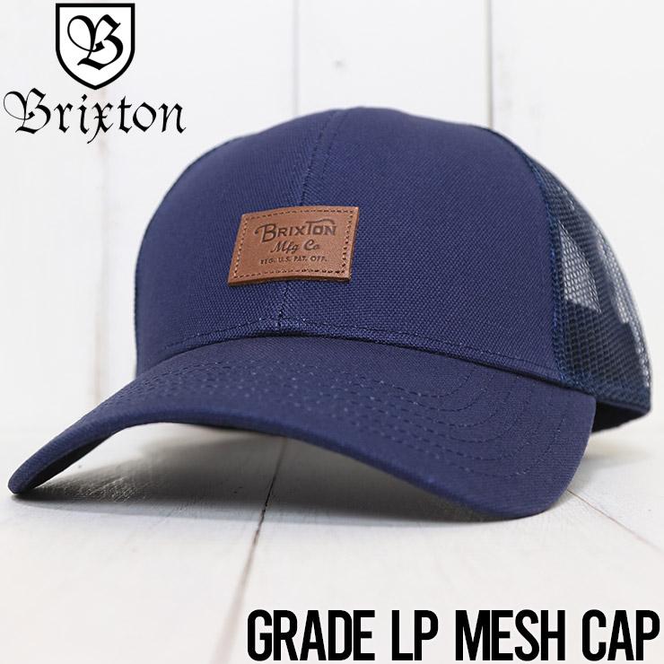 BRIXTON ブリクストン GRADE LP MESH CAP メッシュキャップ 10578 WASHEDNAVY