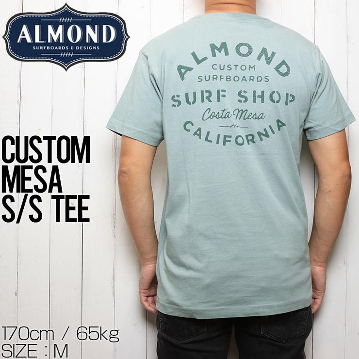 [クリックポスト対応] ALMOND SURF アーモンドサーフ CUSTOM MESA S/S TEE 半袖Tシャツ
