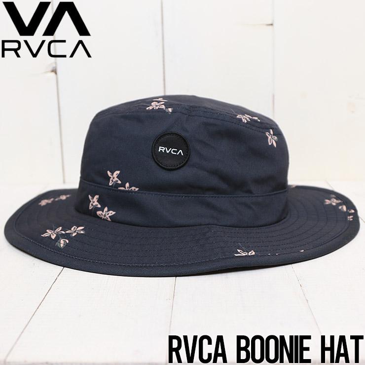 [クリックポスト対応]  RVCA ルーカ RVCA BOONIE HAT ハット サーフハット AVYHA00186