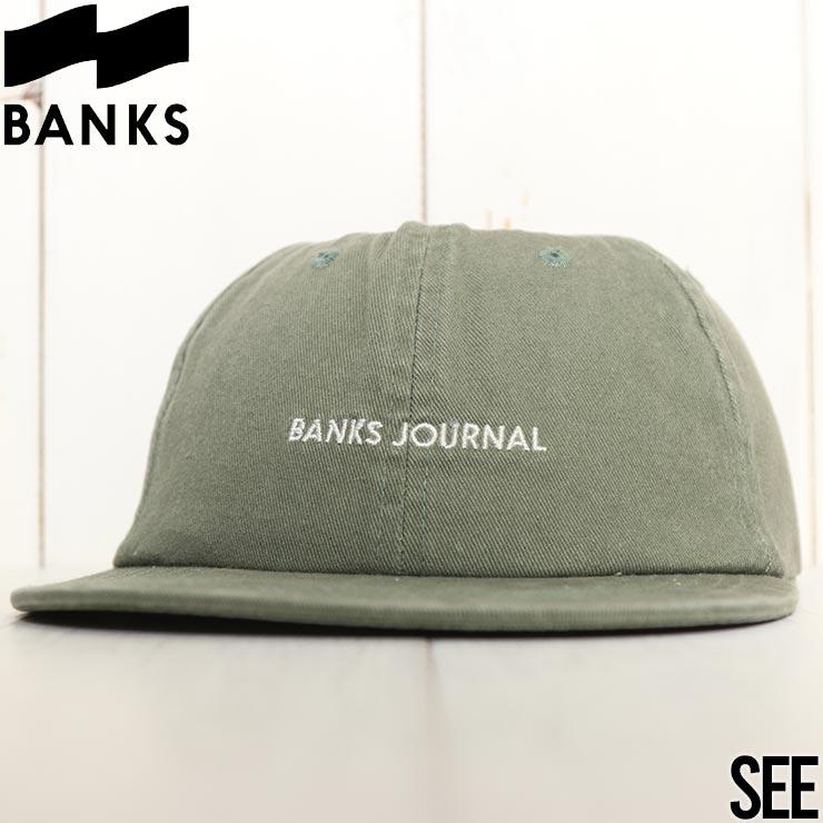 【送料無料】 BANKS バンクス LABEL HAT スナップバックキャップ HA0150