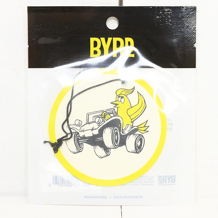 [クリックポスト対応] BYRD バード AIR FRESHENERS エアフレッシュナー BYRD BUGGY MALIBU